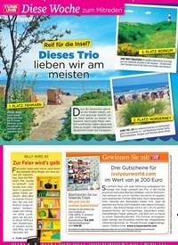 Titelbild der Ausgabe 15/2019 von Gewinnen Sie mit: Drei Gutscheine für ixxiyourworld.com im Wert von je 200 Euro. Zeitschriften als Abo oder epaper bei United Kiosk online kaufen.