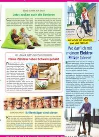 Titelbild der Ausgabe 15/2019 von AUF ACHSE MIT SCOOTER, BIKE UND PEDELEC: Wo darf ich mit meinem Elektro- Flitzer fahren?. Zeitschriften als Abo oder epaper bei United Kiosk online kaufen.