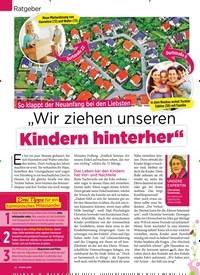 """Titelbild der Ausgabe 16/2019 von Ratgeber : So klappt der Neuanfang bei den Liebsten : """"Wir ziehen unseren Kindern hinterher """". Zeitschriften als Abo oder epaper bei United Kiosk online kaufen."""