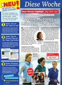 Titelbild der Ausgabe 23/2019 von Diese Wochebesser fernsehen: Wenn Mütter zu Mördern werden …. Zeitschriften als Abo oder epaper bei United Kiosk online kaufen.