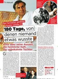 Titelbild der Ausgabe 23/2019 von Das Fernsehen gedenkt Harald Juhnke (†):180 Tage, von denen niemand etwas wusste. Zeitschriften als Abo oder epaper bei United Kiosk online kaufen.