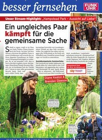 Titelbild der Ausgabe 24/2019 von Ein ungleiches Paar kämpft für die gemeinsame Sache. Zeitschriften als Abo oder epaper bei United Kiosk online kaufen.