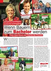 Titelbild der Ausgabe 24/2019 von TV-Aktuell: Attraktive Kandidaten, exotische Schauplätze Wenn Bauern zum Bachelor werden. Zeitschriften als Abo oder epaper bei United Kiosk online kaufen.
