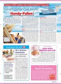 Titelbild der Ausgabe 27/2019 von Vorsicht beim Surfen und Telefonieren im Ausland: So umgehen Sie teure: Handy-Fallen. Zeitschriften als Abo oder epaper bei United Kiosk online kaufen.