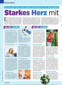 Titelbild der Ausgabe 28/2019 von Gesundheit:Starkes Herz mit. Zeitschriften als Abo oder epaper bei United Kiosk online kaufen.