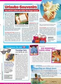 Titelbild der Ausgabe 31/2019 von Urlaubs-Souvenirs: Von diesen sollten Sie lieber die Finger lassen. Zeitschriften als Abo oder epaper bei United Kiosk online kaufen.
