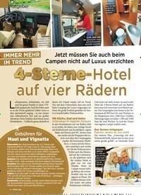 Titelbild der Ausgabe 31/2019 von Ratgeber: IMMER MEHR IM TREND: 4-Sterne-Hotel auf vier Rädern. Zeitschriften als Abo oder epaper bei United Kiosk online kaufen.