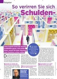 Titelbild der Ausgabe 31/2019 von Ratgeber: So verirren Sie sich nicht im Schulden-Labyrinth. Zeitschriften als Abo oder epaper bei United Kiosk online kaufen.