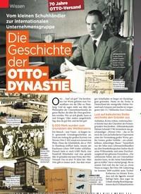 Titelbild der Ausgabe 32/2019 von Wissen: Die Geschichte der OTTODYNASTIE. Zeitschriften als Abo oder epaper bei United Kiosk online kaufen.