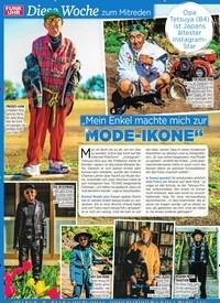 """Titelbild der Ausgabe 33/2019 von Diese Woche zum Mitreden: """"Mein Enkel machte mich zur MODE-IKONE"""". Zeitschriften als Abo oder epaper bei United Kiosk online kaufen."""
