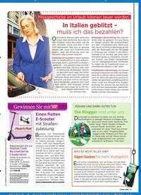 Titelbild der Ausgabe 33/2019 von Missgeschicke im Urlaub können teuer werden: In Italien geblitzt – muss ich das bezahlen?. Zeitschriften als Abo oder epaper bei United Kiosk online kaufen.