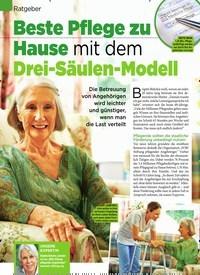 Titelbild der Ausgabe 34/2019 von Ratgeber: Beste Pflege zu Hause mit dem Drei-Säulen-Modell. Zeitschriften als Abo oder epaper bei United Kiosk online kaufen.