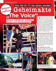 Titelbild der Ausgabe 36/2019 von TV-Hintergrund: Was Sie im TV nie sehen werden: Geheimakte The Voice. Zeitschriften als Abo oder epaper bei United Kiosk online kaufen.