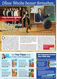 Titelbild der Ausgabe 37/2019 von Elf Freunde müsst ihr sein. Zeitschriften als Abo oder epaper bei United Kiosk online kaufen.