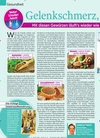 Titelbild der Ausgabe 37/2019 von Gelenkschmerz, lass nach. Zeitschriften als Abo oder epaper bei United Kiosk online kaufen.