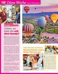 Titelbild der Ausgabe 39/2019 von DIESER OBER TRÄGT NIE KRAWATTE: Deutschlands erstes Robo-Restaurant. Zeitschriften als Abo oder epaper bei United Kiosk online kaufen.
