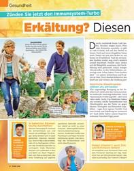 Titelbild der Ausgabe 39/2019 von Gesundheit: Zünden Sie jetzt den Immunsystem-Turbo: Erkältung? Diesen Herbst ohne mich!. Zeitschriften als Abo oder epaper bei United Kiosk online kaufen.