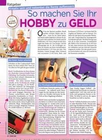Titelbild der Ausgabe 39/2019 von Ratgeber: Kreativ sein und nebenbei die Rente aufbessern: So machen Sie Ihr HOBBY zu GELD. Zeitschriften als Abo oder epaper bei United Kiosk online kaufen.
