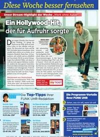 Titelbild der Ausgabe 40/2019 von Diese Woche besser fernsehen: Ein Hollywood-Hit, der für Aufruhr sorgte. Zeitschriften als Abo oder epaper bei United Kiosk online kaufen.