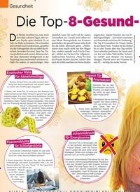 Titelbild der Ausgabe 40/2019 von Gesundheit: Die Top-8-Gesund-Tees für Frauen. Zeitschriften als Abo oder epaper bei United Kiosk online kaufen.
