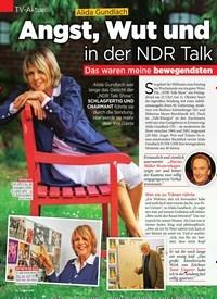Titelbild der Ausgabe 40/2019 von TV-Aktuell: Alida Gundlach: Angst, Wut und Tränen in der NDR Talk Show. Zeitschriften als Abo oder epaper bei United Kiosk online kaufen.