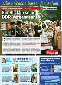 """Titelbild der Ausgabe 42/2019 von Diese Woche besser fernsehen: Unser Stream-Highlight """"Der Turm"""": Ein Blick in seine DDR-Vergangenheit. Zeitschriften als Abo oder epaper bei United Kiosk online kaufen."""