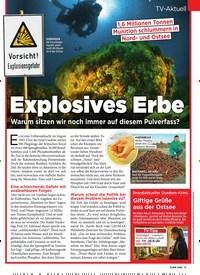 Titelbild der Ausgabe 44/2019 von Explosives Erbe Warum sitzen wir noch immer auf diesem Pulverfass?. Zeitschriften als Abo oder epaper bei United Kiosk online kaufen.