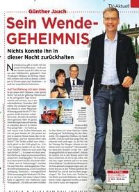 Titelbild der Ausgabe 45/2019 von TV-Aktuell: Günther Jauch: Sein Wende-GEHEIMNIS. Zeitschriften als Abo oder epaper bei United Kiosk online kaufen.