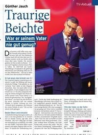 Titelbild der Ausgabe 49/2019 von TV-Aktuell: Traurige Beichte: War er seinem Vater nie gut genug?. Zeitschriften als Abo oder epaper bei United Kiosk online kaufen.