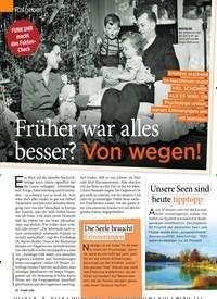 Titelbild der Ausgabe 49/2019 von Ratgeber: FUNK UHR macht den Fakten-Check: Früher war alles besser? Von wegen!. Zeitschriften als Abo oder epaper bei United Kiosk online kaufen.