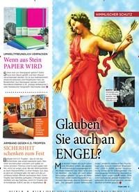 Titelbild der Ausgabe 50/2019 von Glauben Sie auch an ENGEL?. Zeitschriften als Abo oder epaper bei United Kiosk online kaufen.