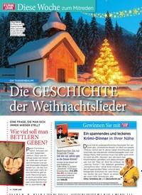 Titelbild der Ausgabe 51/2019 von Diese Woche zum Mitreden: OH TANNENBAUM!: Die GESCHICHTE der Weihnachtslieder. Zeitschriften als Abo oder epaper bei United Kiosk online kaufen.