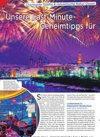 Titelbild der Ausgabe 51/2019 von Reise:Silvester. Zeitschriften als Abo oder epaper bei United Kiosk online kaufen.