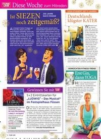 Titelbild der Ausgabe 52/2019 von Ist SIEZEN noch zeitgemäß?. Zeitschriften als Abo oder epaper bei United Kiosk online kaufen.