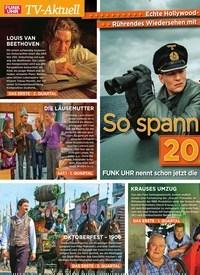 Titelbild der Ausgabe 1/2020 von So spannend wird 2020 im TV. Zeitschriften als Abo oder epaper bei United Kiosk online kaufen.