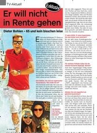 Titelbild der Ausgabe 1/2020 von Exklusiv: Er will nicht in Rente gehen. Zeitschriften als Abo oder epaper bei United Kiosk online kaufen.