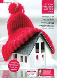 Titelbild der Ausgabe 2/2020 von Ratgeber: STROMFRESSERN AUF DER SPUR: Wenn der Kühlschrank GELD VERHEIZT. Zeitschriften als Abo oder epaper bei United Kiosk online kaufen.