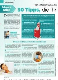 Titelbild der Ausgabe 2/2020 von Gesundheit: Schmerz ade!: 30 Tipps, die Ihr Rücken lieben wird. Zeitschriften als Abo oder epaper bei United Kiosk online kaufen.