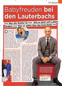 Titelbild der Ausgabe 3/2020 von TV-Aktuell: Babyfreuden bei den Lauterbachs. Zeitschriften als Abo oder epaper bei United Kiosk online kaufen.
