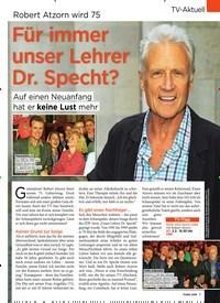 Titelbild der Ausgabe 5/2020 von Robert Atzorn wird 75: Für immer unser Lehrer Dr. Specht?. Zeitschriften als Abo oder epaper bei United Kiosk online kaufen.