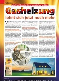 Titelbild der Ausgabe 5/2020 von Ratgeber: Gasheizung. Zeitschriften als Abo oder epaper bei United Kiosk online kaufen.