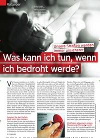 Titelbild der Ausgabe 5/2020 von Ratgeber: Was kann ich tun, wenn ich bedroht werde?. Zeitschriften als Abo oder epaper bei United Kiosk online kaufen.