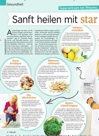 Titelbild der Ausgabe 6/2020 von Gesundheit: Superwirksam bei Rheuma, Reizdarm und Co.: Sanft heilen mit starken Lebensmitteln. Zeitschriften als Abo oder epaper bei United Kiosk online kaufen.