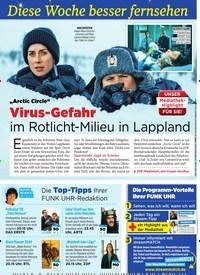 """Titelbild der Ausgabe 7/2020 von Diese Woche besser fernsehen: """"Arctic Circle"""": Virus-Gefahr: im Rotlicht-Milieu in Lappland. Zeitschriften als Abo oder epaper bei United Kiosk online kaufen."""