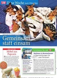 Titelbild der Ausgabe 9/2020 von Diese Woche zum Mitreden: Rettung für Känguru-Waisen: Gemeinsam statt einsam. Zeitschriften als Abo oder epaper bei United Kiosk online kaufen.