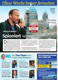 """Titelbild der Ausgabe 11/2020 von Diese Woche besser fernsehen: """"West of Liberty"""": Spioniert wird heute digital. Zeitschriften als Abo oder epaper bei United Kiosk online kaufen."""