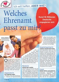 Titelbild der Ausgabe 11/2020 von Ich will helfen, ABER WIE?: Welches Ehrenamt passt zu mir?. Zeitschriften als Abo oder epaper bei United Kiosk online kaufen.