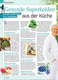 Titelbild der Ausgabe 11/2020 von Gesundheit: Gesunde Superhelden aus der Küche: Von den Ernährungs- Docs empfohlen. Zeitschriften als Abo oder epaper bei United Kiosk online kaufen.