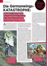 Titelbild der Ausgabe 12/2020 von TV-Aktuell: Die Germanwings - KATASTROPHE:. Zeitschriften als Abo oder epaper bei United Kiosk online kaufen.