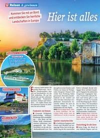 Titelbild der Ausgabe 22/2019 von Hier ist alles im Fluss. Zeitschriften als Abo oder epaper bei United Kiosk online kaufen.